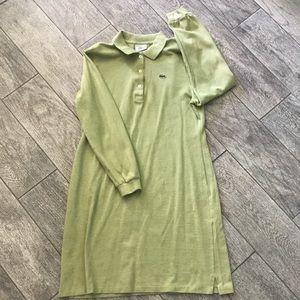 Lacoste long sleeve dress